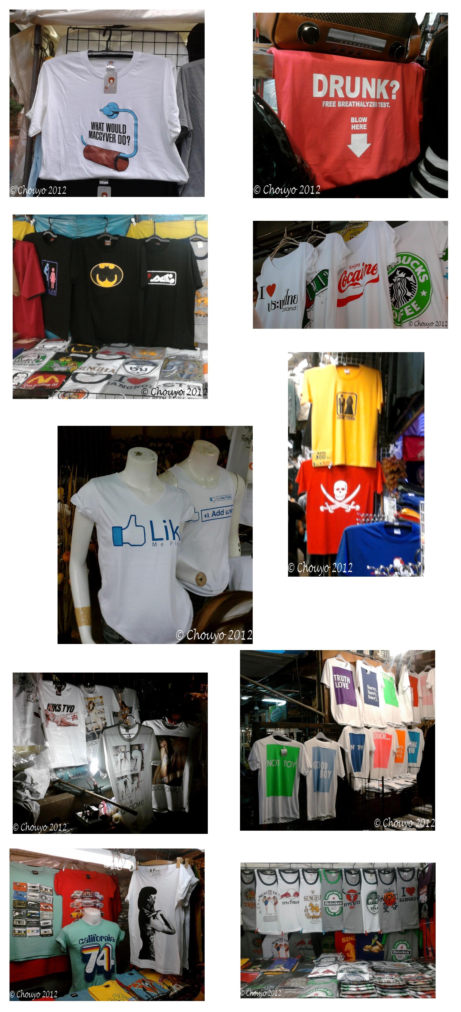 Thaïlande T-shirt fin 4