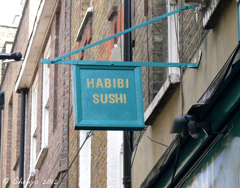 Londres Habibi Sushi blog