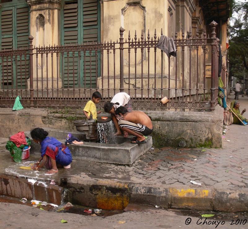 Calcutta Lavoir