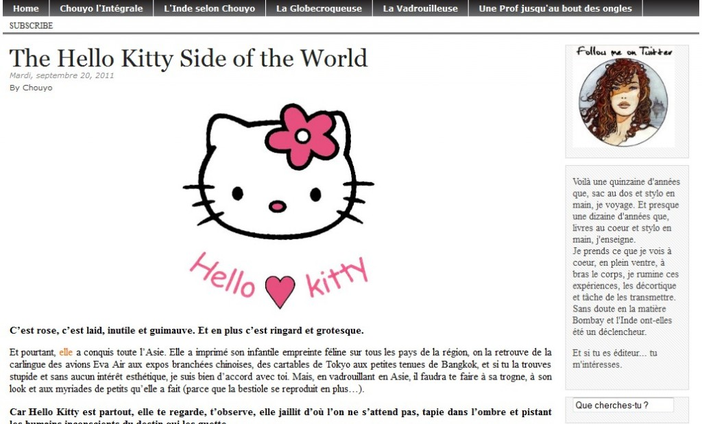 The Hello Kitty Side of the World