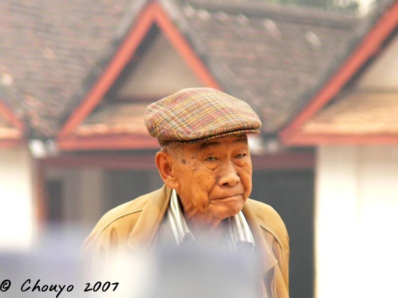 Laos Vieil homme