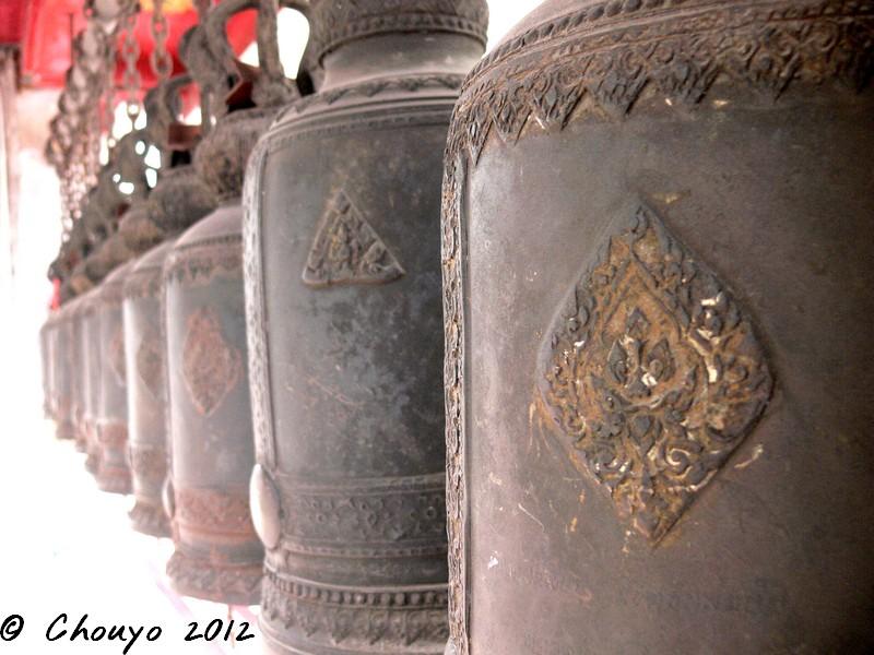 Thaïlande Cloches