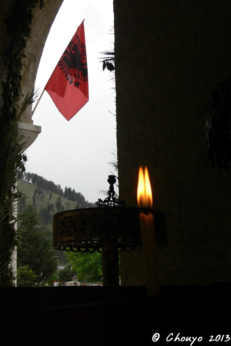 Albanie Drapeau 4