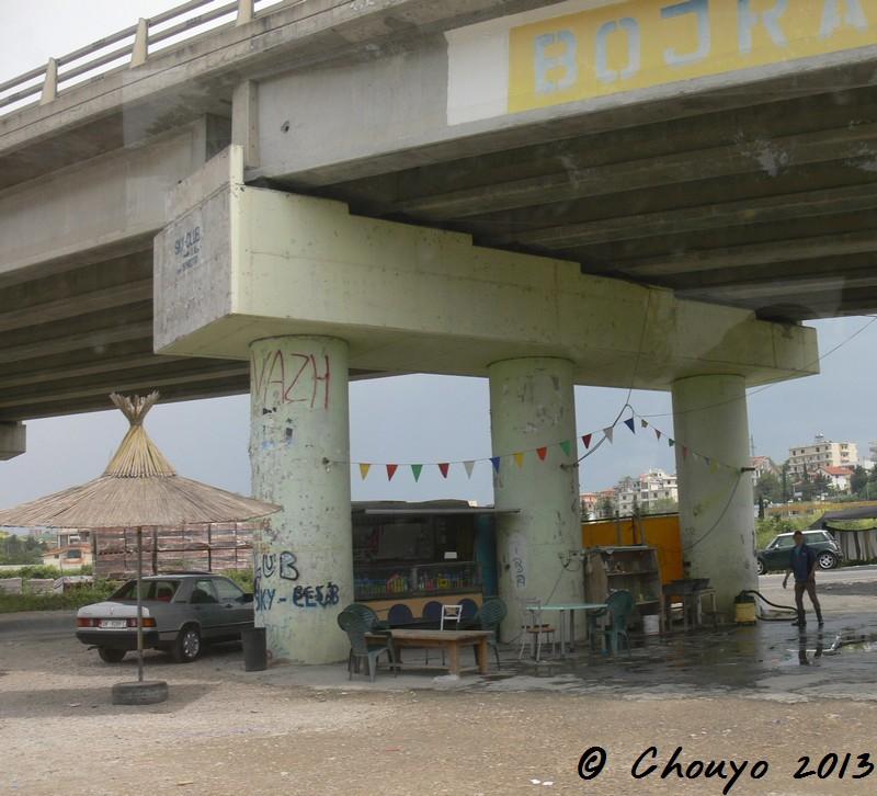 Albanie Gare routière