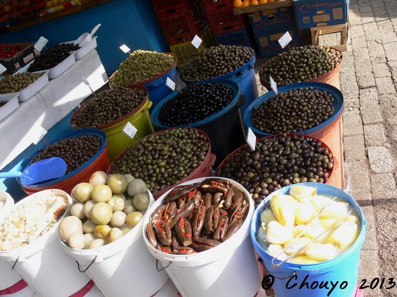 Albanie Olives