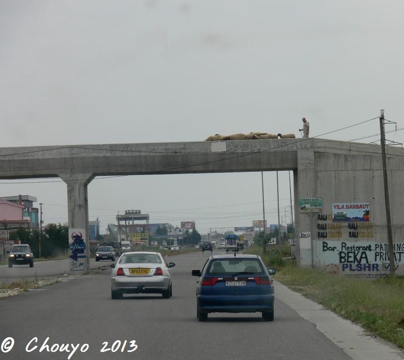 Albanie Route