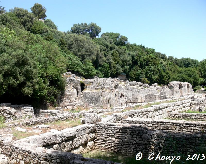 Albanie Butrint Thermes