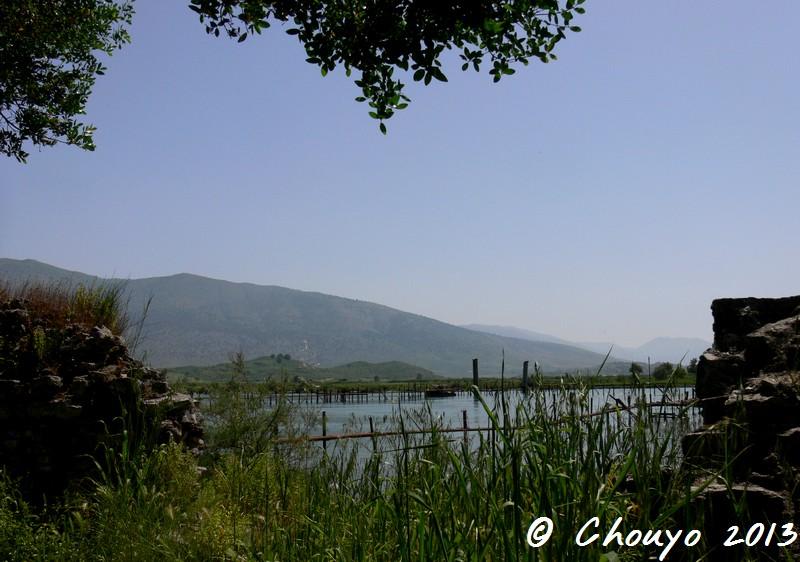 Albanie Butrint Vue