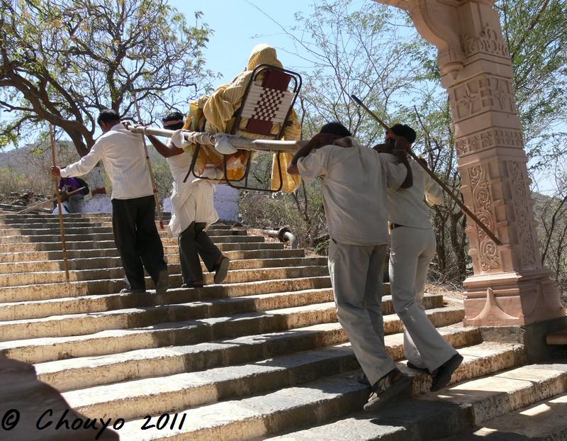 Gujarat Palitana Porteurs