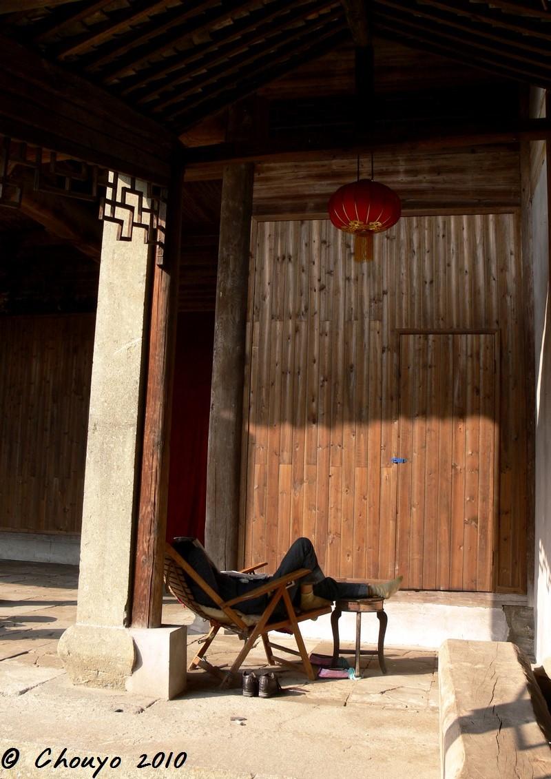 Chine Huizhou Pause