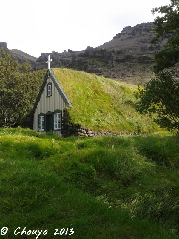 Islande Eglise herbue