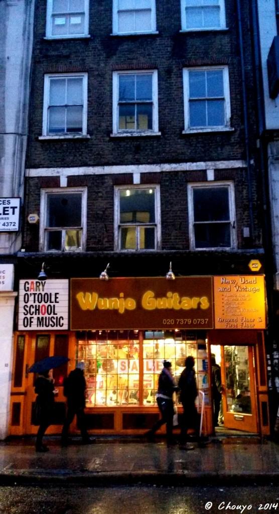 Londres Denmark Street 3
