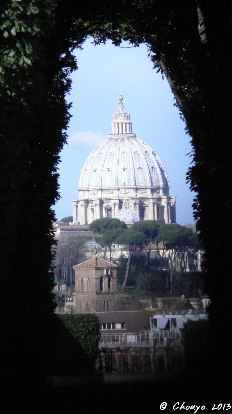Rome Prieuré des Chevaliers de l'Ordre de Malte 6
