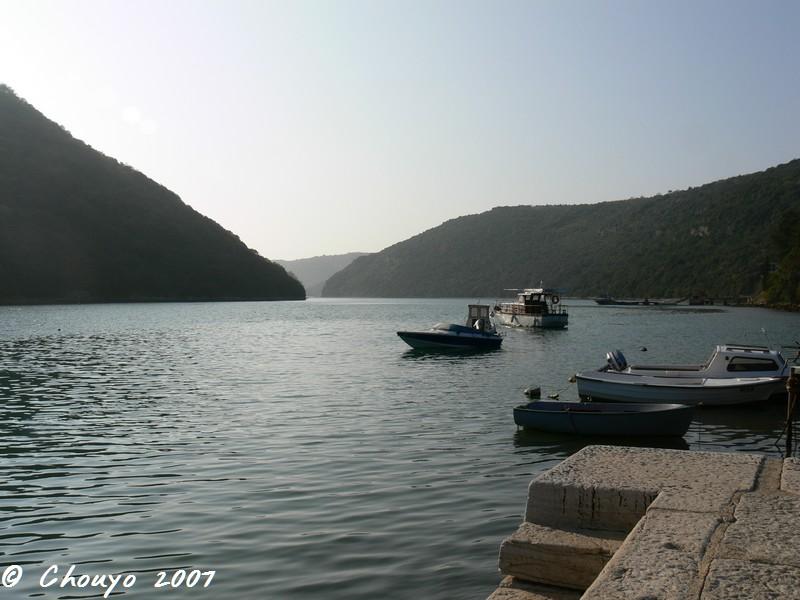 Croatie Fjord de Limsk