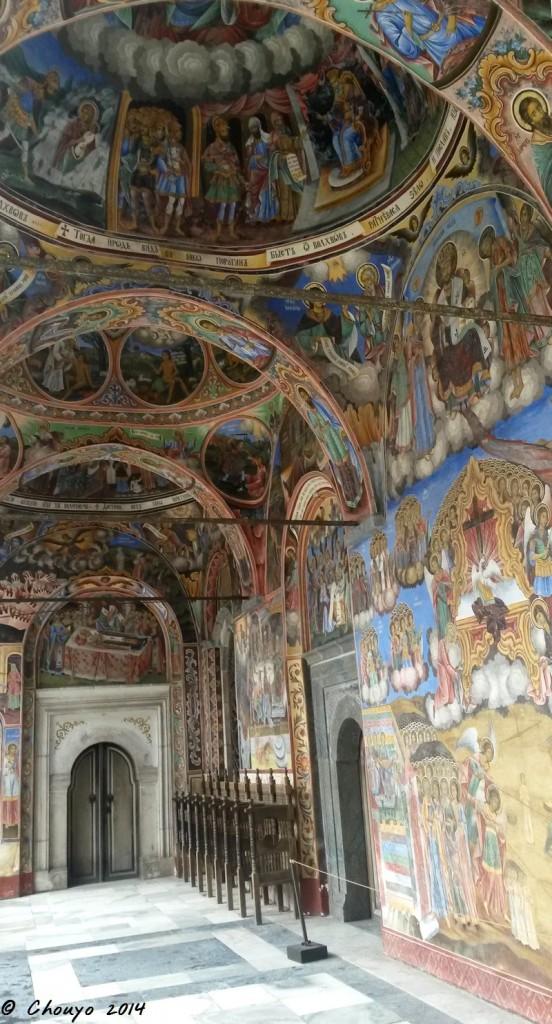 Bulgarie Rila Fresques