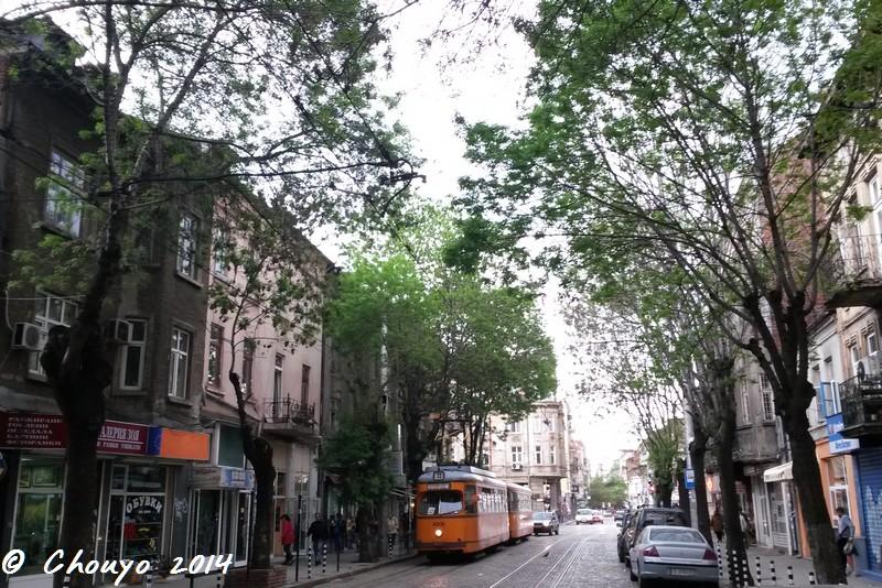 Bulgarie Sofia Rue