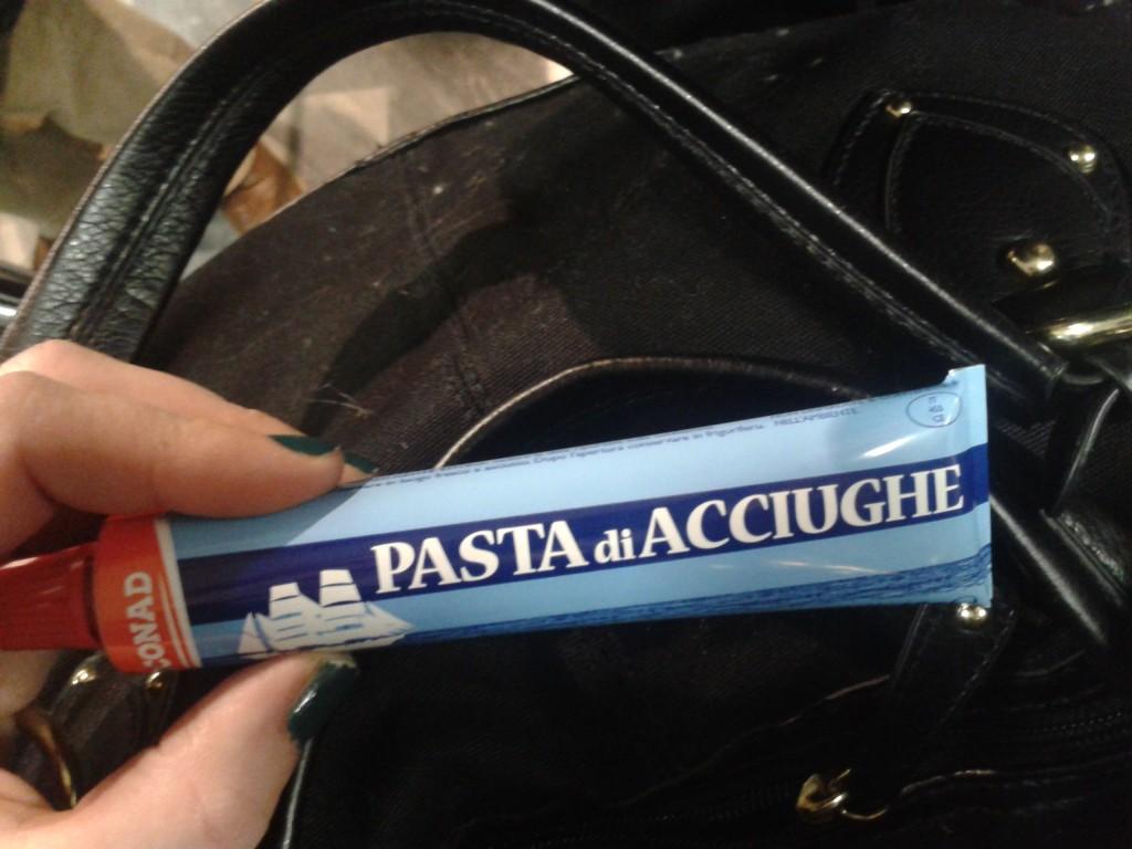 Pâte d'anchois
