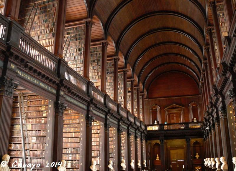 Irlande Dublin Trinity College Library