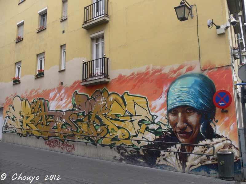 Bilbao Street Art 12