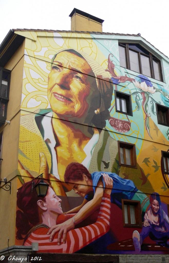 Bilbao Street Art 3