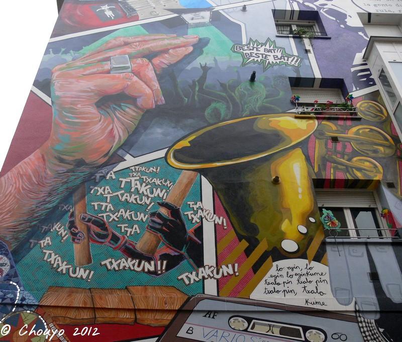 Bilbao Street Art 8