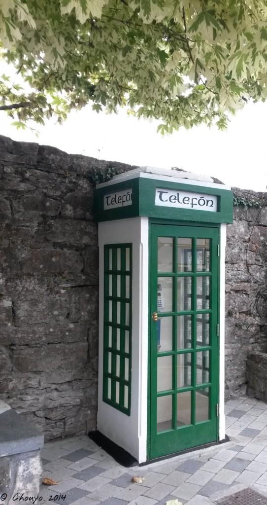 Irlande Cabine téléphonique