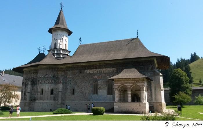 Roumanie Bucovine Eglises