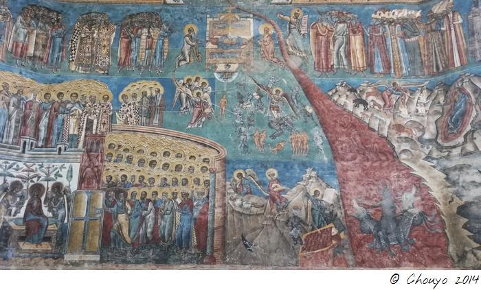 Roumanie Bucovine Fresques