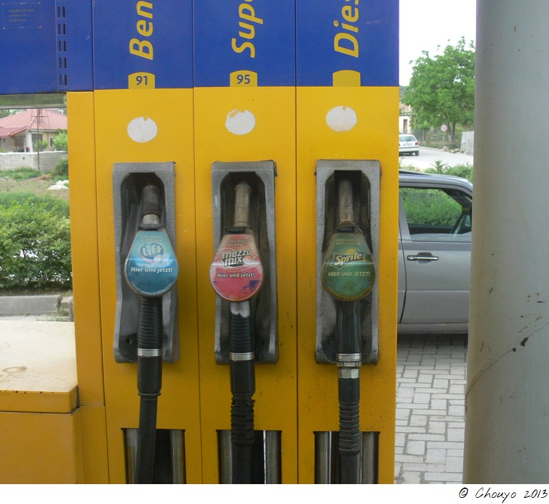 Albanie Pompe à essence