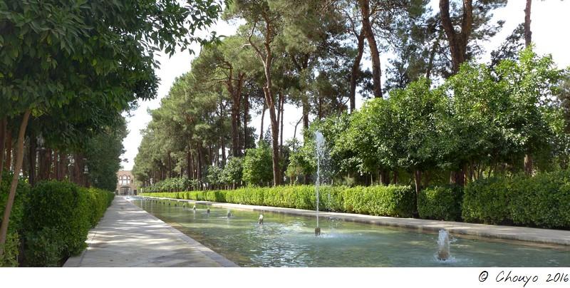 Iran Yazd Jardin